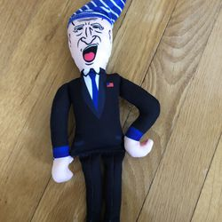 Sleepy Joe Biden Novelty Squeaker Dog Chew Toy Thumbnail