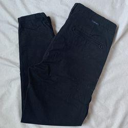 Zara Man Ankle chinos Black Thumbnail