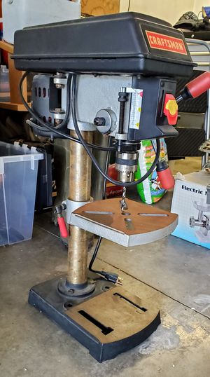 Photo Craftsman Bench Drill Press