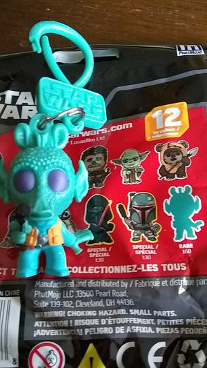 Star wars greedo chase bag clip keychain figure collectible toy rare for Sale in Norwalk, CA