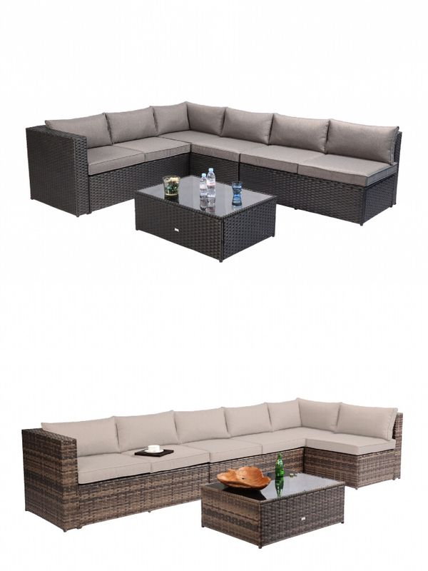 Collections Of California 5 Seater Rattan Sofa Set