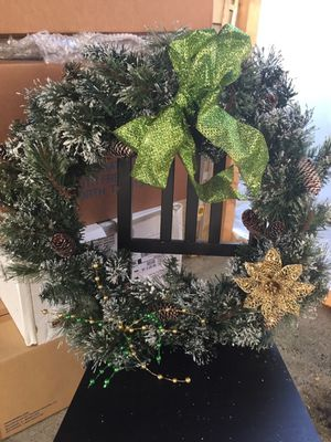 Beautiful Christmas wreath. for Sale in Gaithersburg, MD