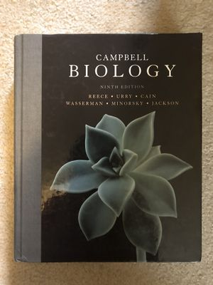 Campbell Biology Textbook (9th edition) for Sale in Portland, OR