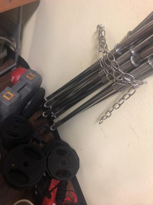 Mini barbells and weights for Sale in Houston, TX