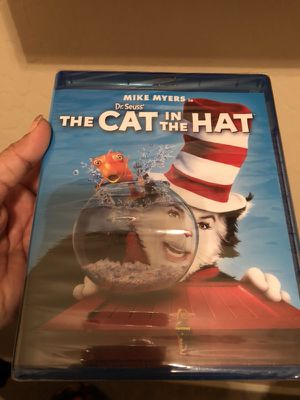 Cat in the hat blu Ray for Sale in Laveen Village, AZ