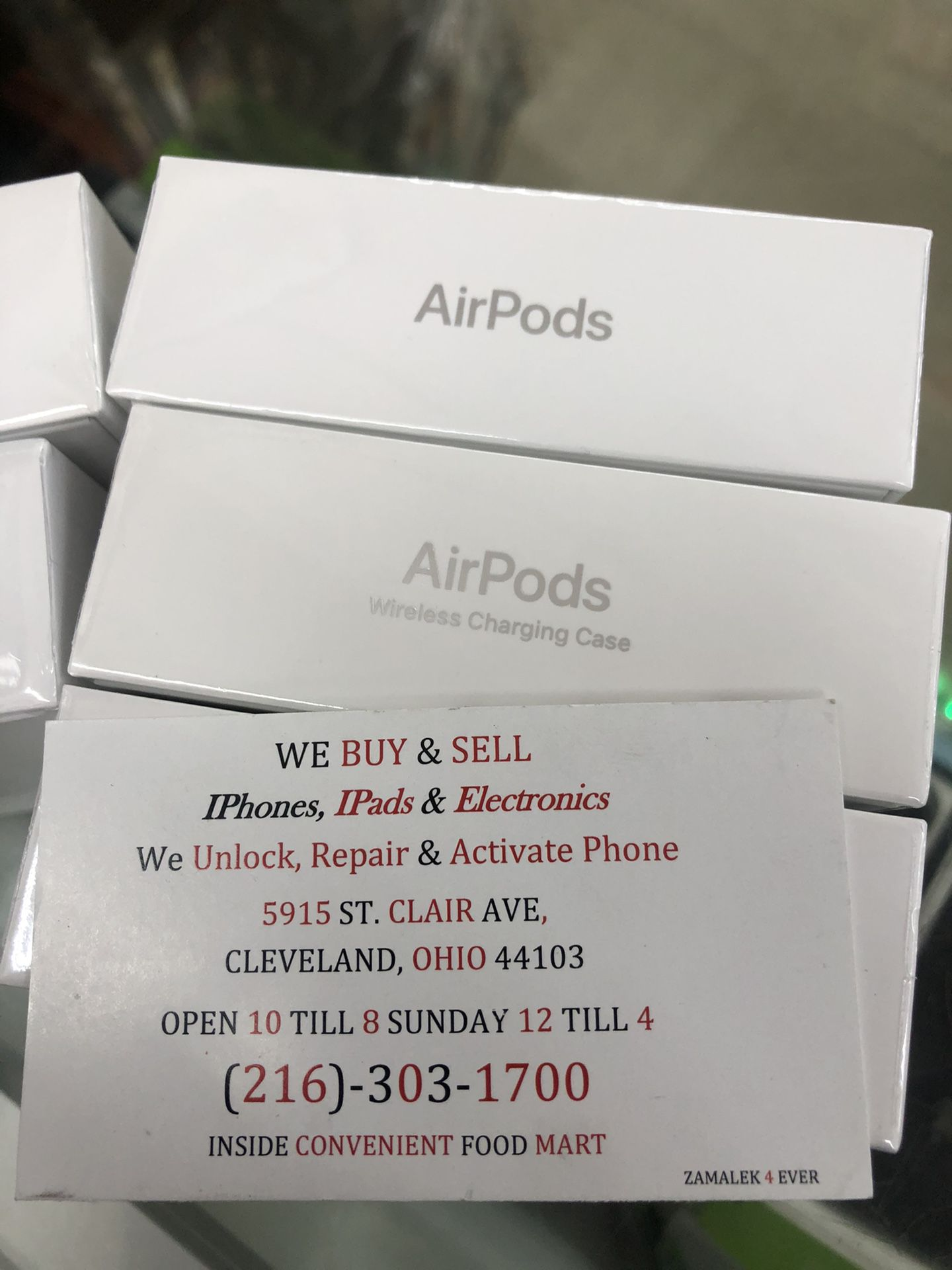 Original made by apple AirPods sealed new last generation