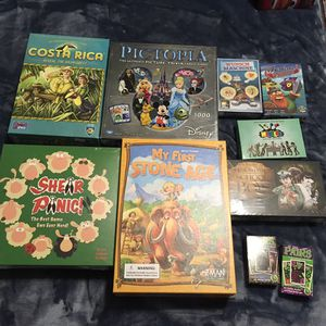 Family games/kids board games- new in shrink or like new. Great for Christmas! for Sale in Kirkland, WA