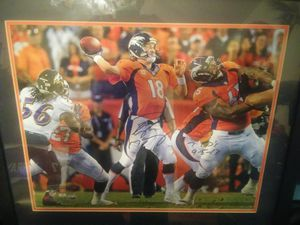Payton manning sign picture for Sale in Boston, MA