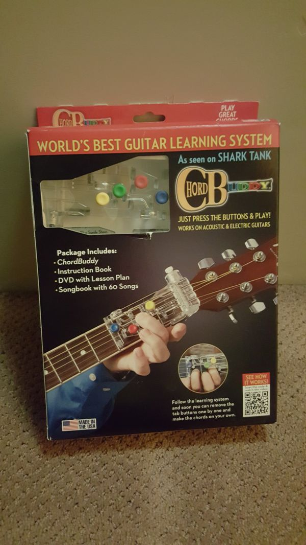 Chord Buddy Learn To Play Guitar For Sale In Pretty Prairie Ks