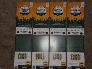 (8) Tickets - 106th Grey Cup Edmonton, CA 11/25/2018 for Sale in Longmont, CO