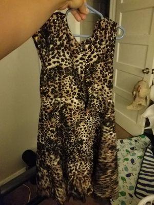 Girls cheetah print dress for Sale in York, PA