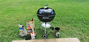 Photo BBQ Grill full set! (weber charcoal grill)