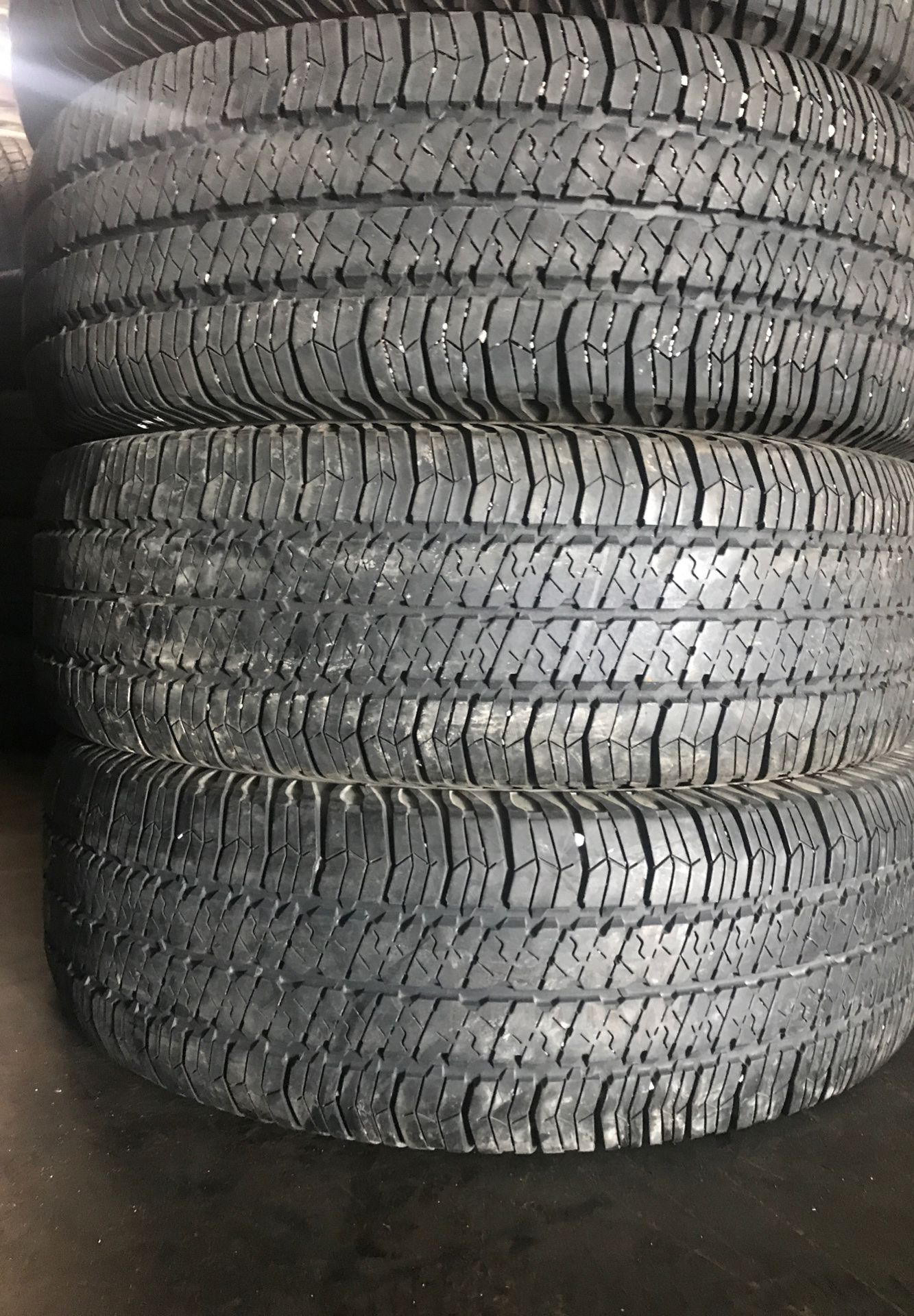 Used tires 255 75 17