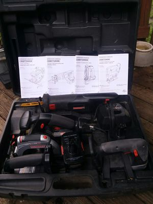 Craftsman 19.5 battery operated Sawzall kit $269 in the store plus tax for Sale in Severn, MD