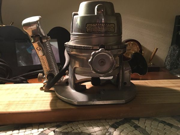 Vintage Craftsman Router For Sale In Clearwater Fl Offerup