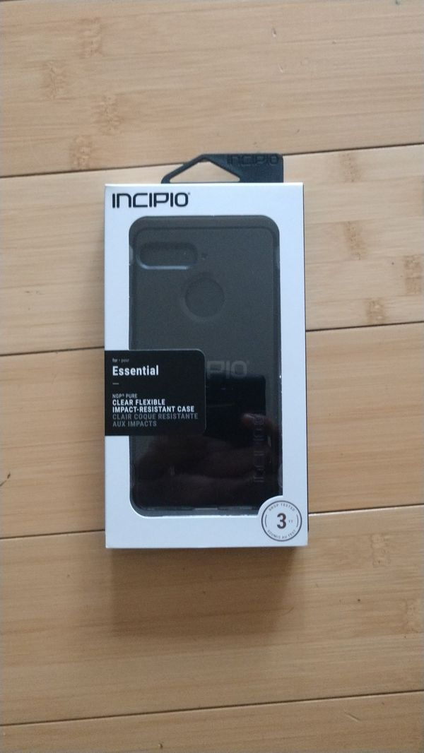 cheap for discount 38d9a 7ce33 Incipio clear flexible case for Essential phone for Sale in Edison, NJ -  OfferUp