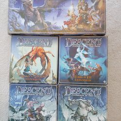 Descent: Journeys In The Dark (1st Ed) & Expansions & Lieutenants Thumbnail