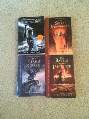 Percy Jackson Book Series for Sale in Manassas, VA