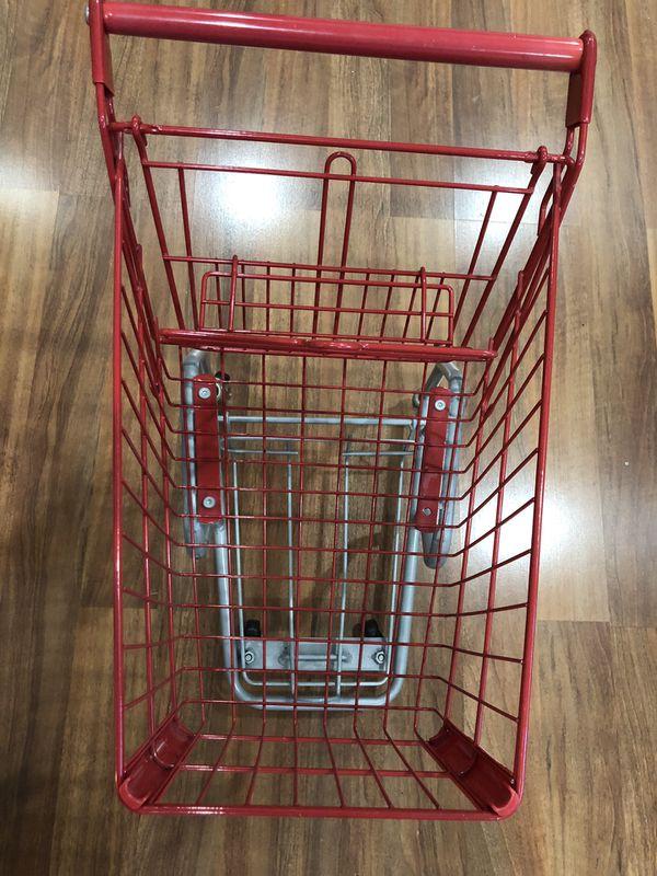 Kids Red Metal Shopping Cart For Sale In Kirkland Wa