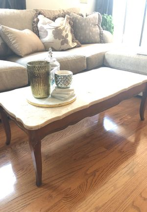 Marble coffee table for Sale in Tampa, FL