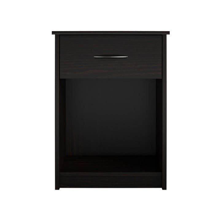 BRAND NEW  Mainstays Classic Nightstand with Drawer, Espresso MainstaysModel: DW96387