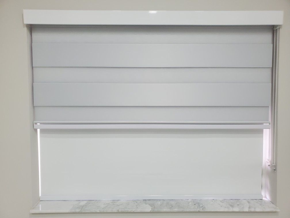 Cortinas Y Persianas Zebra Shades Light Filtering Or Dimout Collection