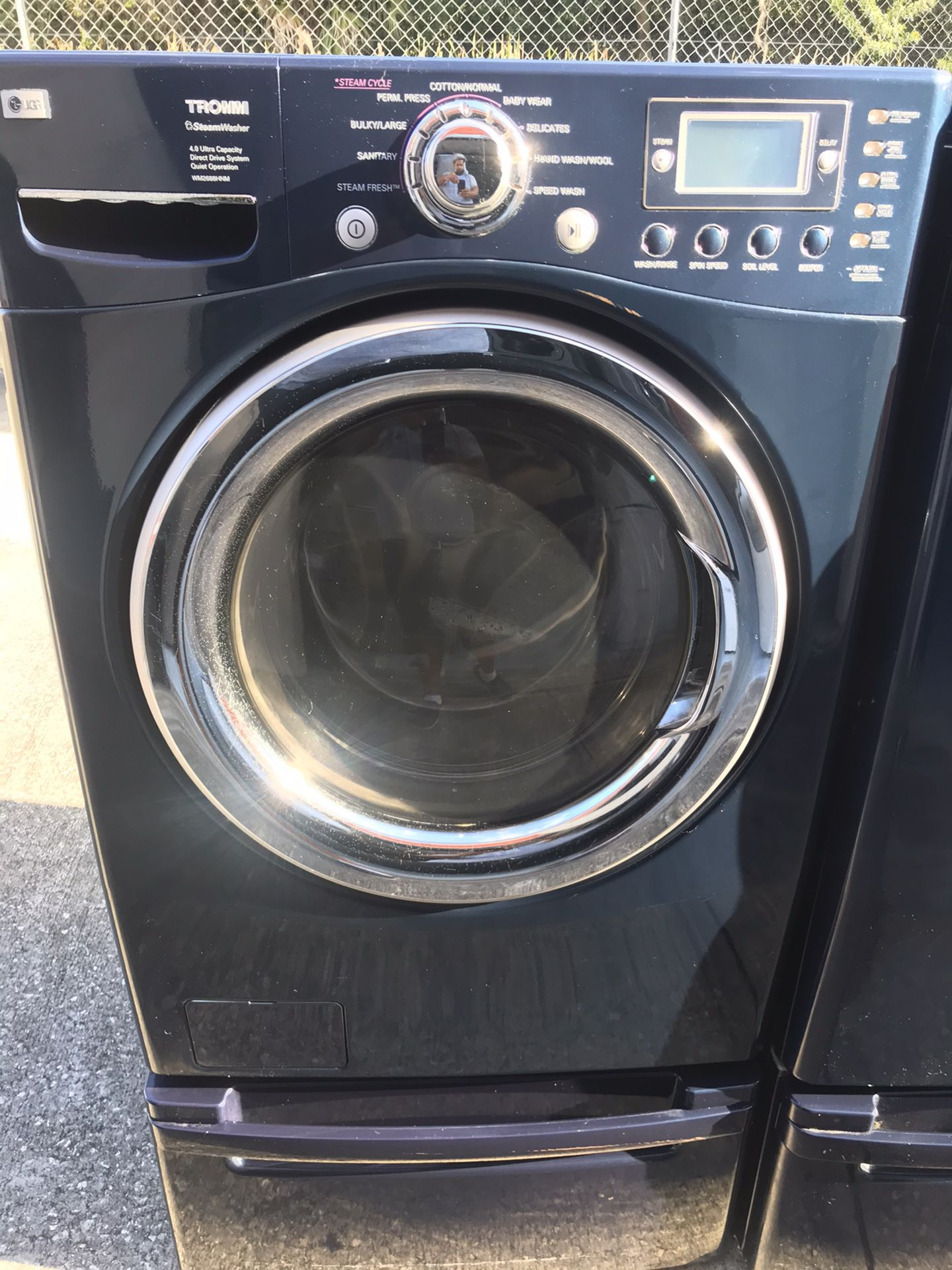 Lg Washer And Dryer On Pedestal