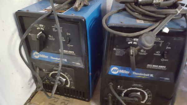 Miller thunderbolt XL 225/150 welder AC/CC for Sale in Houston, TX - OfferUp