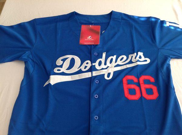 4298dff31 Yasiel Puig Stitched Dodgers Jersey for Sale in Oceanside
