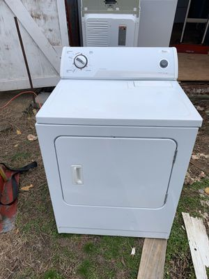 Photo Whirlpool Dryer. Just like new! Must go now!!