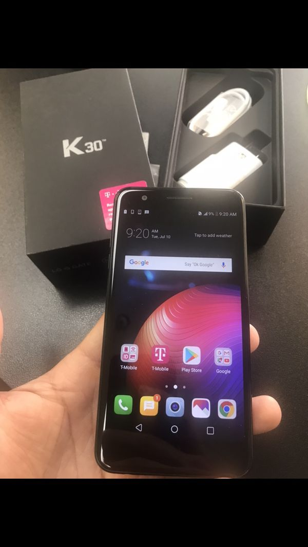 Lg k30  Brand new never used  Factory unlocked! Nice big screen! for Sale  in Phoenix, AZ - OfferUp
