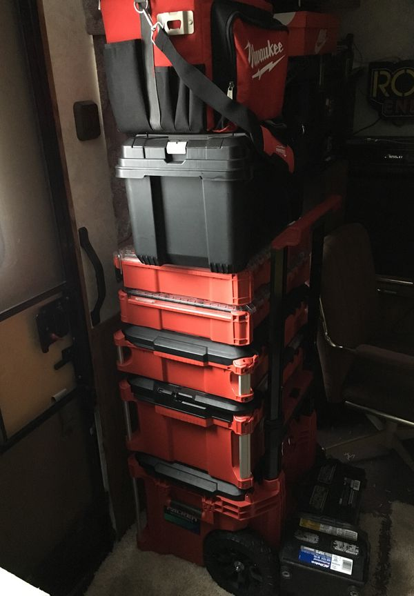 Milwaukee tool box full of new tools m18 and m12! for Sale in Nowthen, MN -  OfferUp