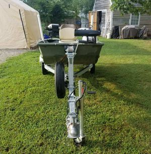 2000 12ft John Boat and trailer for Sale in Manassas, VA