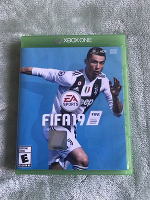 FIFA 19 for Xbox one, NEW JUST OPEN FOR TRYING AND DONT LIKE IT for Sale in Las Vegas, NV