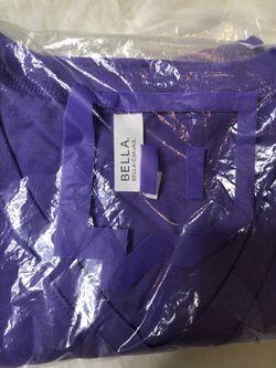 Twitch Purple V-Neck T-shirt Womens Girls Online Gamer Glitch Small Thumbnail