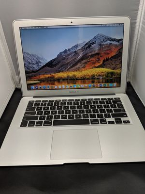 """Apple MacBook air 13"""" 1.4ghz i5 256ssd early 2014 in perfect condition with Microsoft office + and Adobe Photoshop cs6 master collection + for Sale in Dallas, TX"""