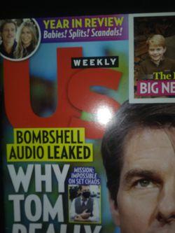 Us Weekly Magazine Thumbnail
