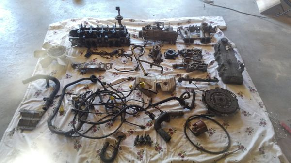 91 toyota 22re engine parts
