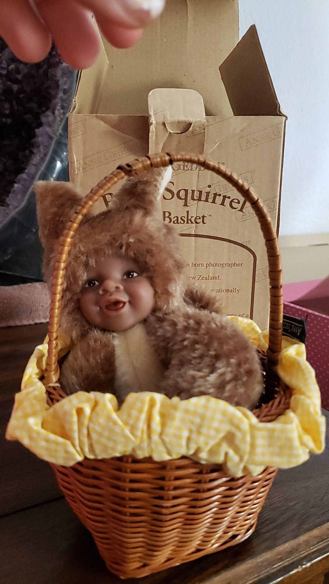 Anne Geddes Baby Squirrel