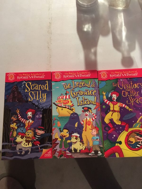McDonald vhs tapes for Sale in Methuen, MA - OfferUp