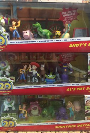TOY STORY COLLECTION FROM DISNEY 20th ANIVERSARY for Sale in Kissimmee, FL