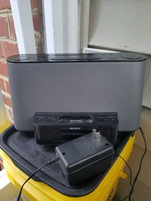 Sony Ipod Dock for Sale in Apex, NC