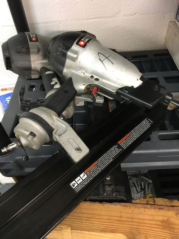 Porter Cable 21 degree framing nailer! for Sale in Miami, FL - OfferUp