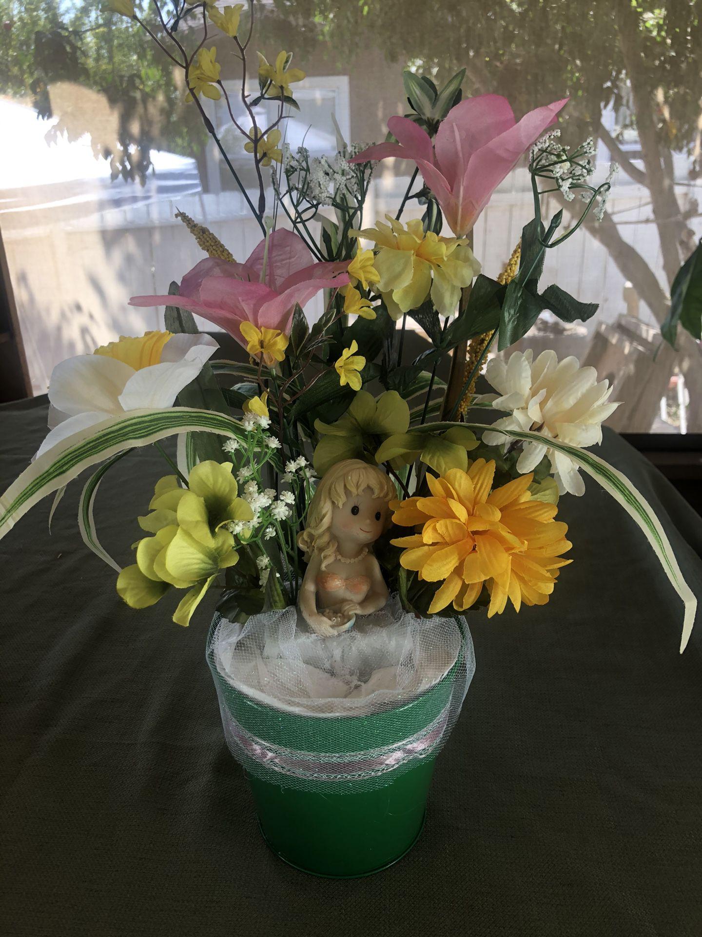 Brand new flower arrangement