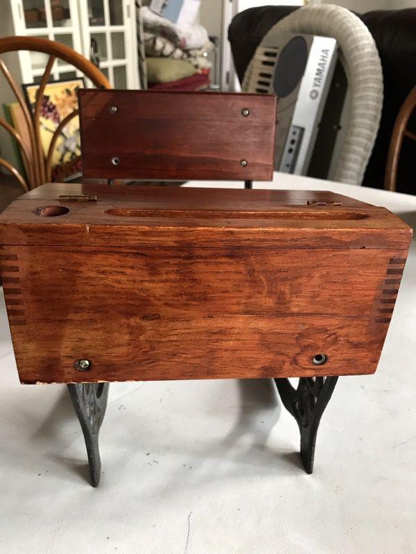 Amazing Small Wooden Replica Of Replica Of Antique School Desk Wrought Iron Legs For Sale In Anaheim Ca Offerup Download Free Architecture Designs Xoliawazosbritishbridgeorg