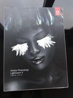 Adobe Photoshop Lightroom 4 for Sale in San Francisco, CA