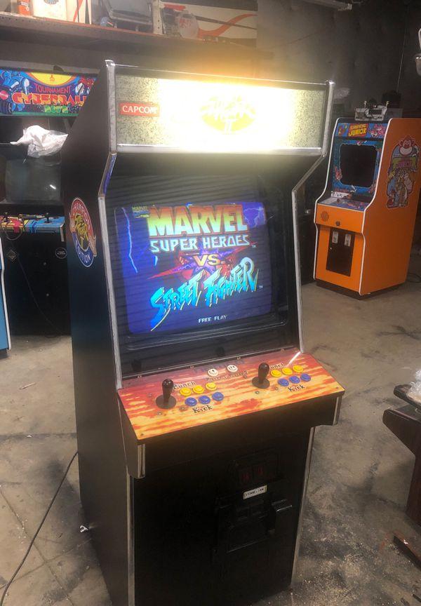 Capcom Marvel vs Street fighter arcade game for Sale in Lodi, CA - OfferUp