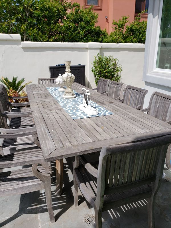 Teak Outdoor Table And Chairs For Sale In Agoura Hills Ca