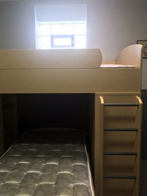 Bunk beds w/desk shelfs and drawers for Sale in Murrysville, PA