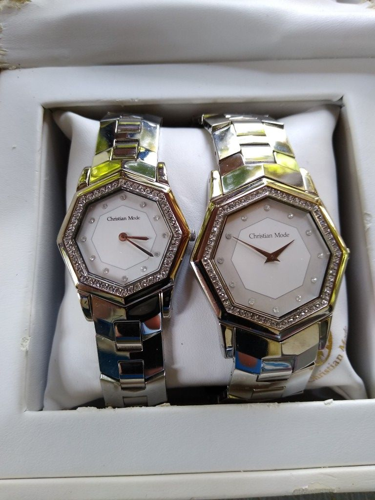 Christian Mode His And Hers Luxury Watches